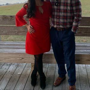 Express XS Red Dress